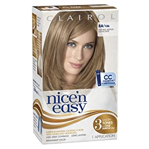 Medium Ash Blonde 1 Kit (Pack of 3) : Chemical Hair Dyes : Beauty