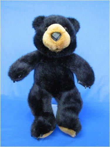 "Bosco Black Bear 15"" Make Your Own *NO SEW* Stuffed Animal Kit w/ T-shirt"