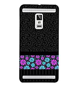 Flowers Play Vision 3D Hard Polycarbonate Designer Back Case Cover for VIVO X3S