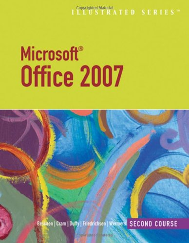 Microsoft Office 2007-Illustrated Second Course (Illustrated Series) front-856939