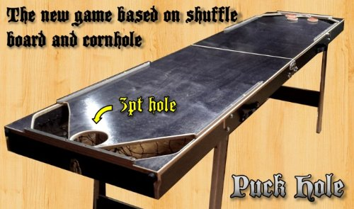 Cheap Puck Hole - A Mix Between Shuffleboard and Cornhole