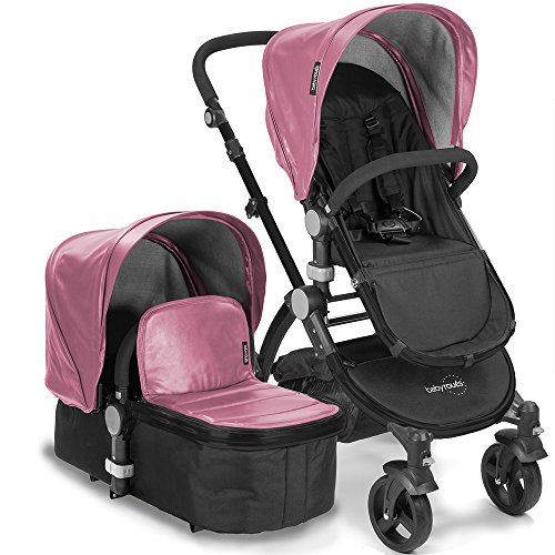 babyroues Letour Lux IIB Stroller, Pink - 1