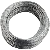 National Hardware V2565 #3 x 25' Medium-Duty Braided Wire in Galvanized
