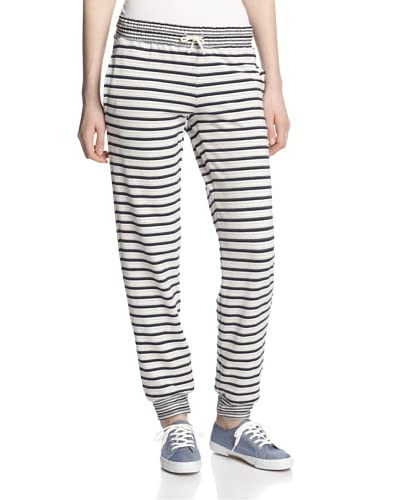 LAmade Women's Striped French Terry Pants