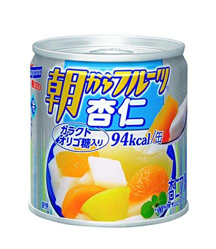 はごろも 朝からフルーツ杏仁 190g×4個