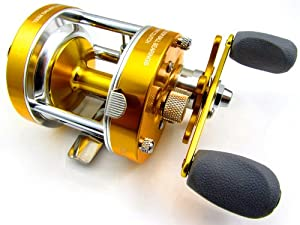 New 2 S.s BB Round Baitcasting Fishing Reel High Quality 40 Series Gear Ratio: 5.2:1.
