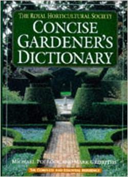 the colour dictionary garden plants royal horticutural society book