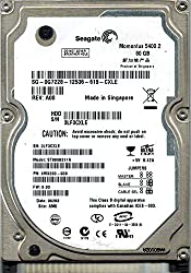 Seagate 80GB 5400RPM IDE /Pata ST9808211A 2.5 Inch Laptop Harddrive (HP Part)