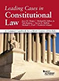 img - for Leading Cases in Constitutional Law, A Compact Casebook for a Short Course (American Casebook Series) book / textbook / text book