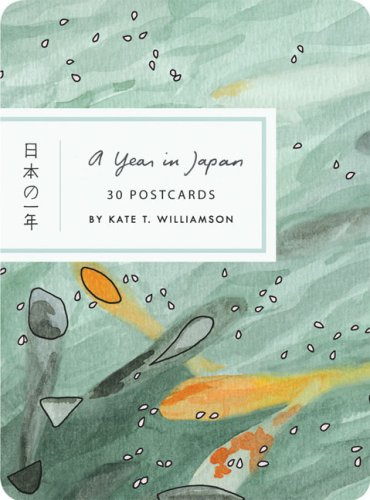 A Year in Japan Postcard Book (Card Book)