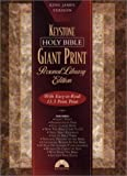 Holy Bible, Giant Print Personal Library Edition: King James Version