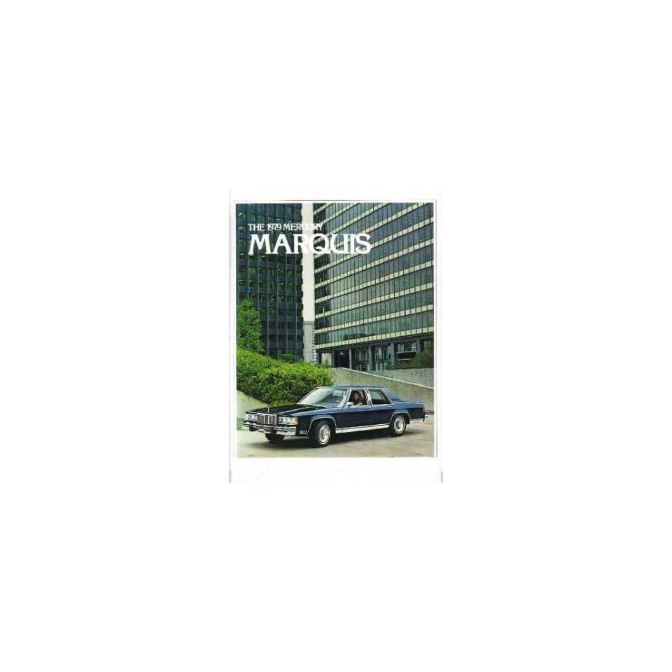 1979 Mercury Marquis Sales Brochure Literature Book Advertisement Options Specs
