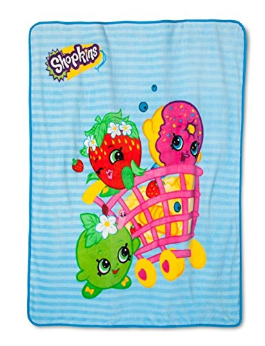 Shopkins Plush Throws