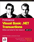 img - for Professional VB.NET Transactions book / textbook / text book