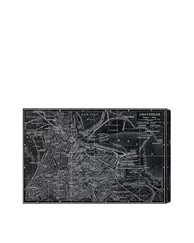 Oliver Gal Map Of Amsterdam In 1905 Canvas Art, Multi, 16 x 24