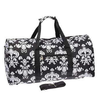 "22"" Carry On Duffel Bag (Black Owl)"