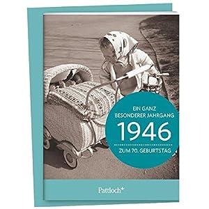 1946 - Ein ganz besonderer Jahrgang Zum 70. Geburtstag: Jahrgangs-Heftchen mit Umschlag