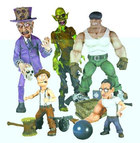 Buy Low Price Mezco The Goon Series 1 Action Figures Set of 4 (B000QFDGQY)