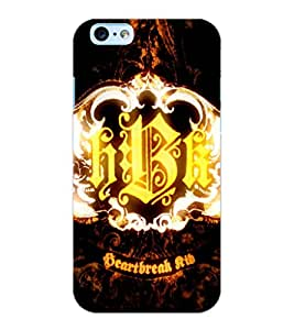 ColourCraft HBK Design Back Case Cover for APPLE IPHONE 6