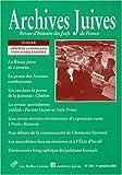 echange, troc Collectif - Archives juives N° 36/1 1er semestre 2003 : Aspects de la presse juive entre les deux guerres