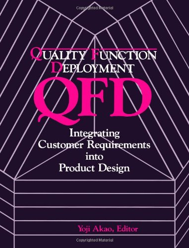 QFD: Quality Function Deployment - Integrating Customer Requirements into Product Design