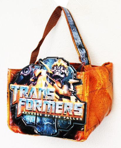 Transformers Trick or Treat Bag - Transformers Bumblebee Halloween Candy Gift Bag