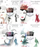 e.l.f. Disney Villains Collection Look Book Contains 4 Sets Maleficent, Cruella De Vil, Ursula and Evil Queen