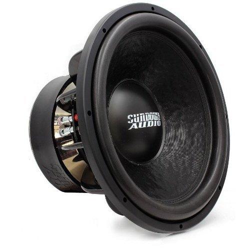 "Z-15 V.3 D2 - Sundown Audio 15"" 1500 Watt Rms Dual 2-Ohm Z3 Series Subwoofer"