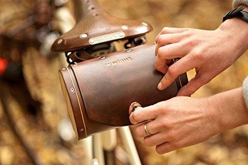 Walnut Studiolo Bicycle Seat Saddle Barrel Bag 2