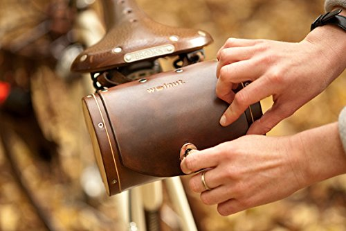 Walnut Studiolo Bicycle Seat Saddle Barrel Bag 2
