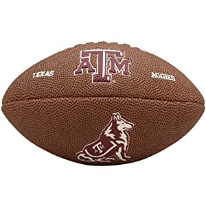 NCAA Texas A&M Aggies Team Football, Mini, Brown
