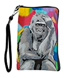 Gorilla Wristlet, Great for a Small Camera, Small Cell Phone, Mp3 or Ipod