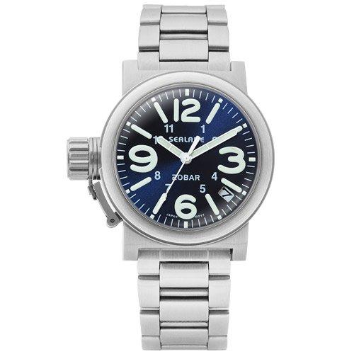 [シーレーン]SEALANE 腕時計 20BAR スーパードームレンズ SE51-MBL メンズ