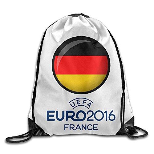 VOLTE Germany Flag Drawstring Bags Camper White Backpack Sport Bag For Men & Women School Travel Backpack For Teens College (Camper Hiking Boots compare prices)