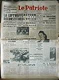 PATRIOTE du 14/10/1950