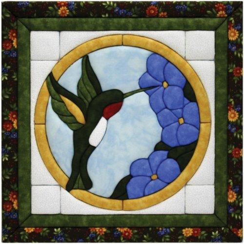 Quilt Magic 12-Inch by 12-Inch Hummingbird Kit