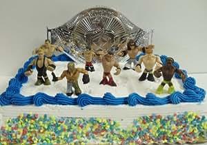 Amazon Com Wwe Wrestler Rumblers Wrestling Birthday Cake
