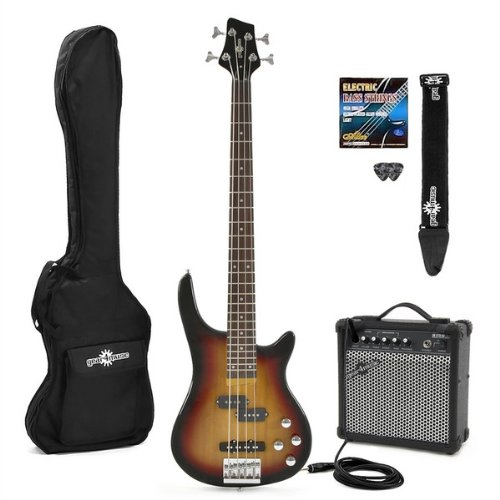 Electric RS-40 Bass Guitar & Amp Pack Sunburst