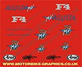MV Agusta F4 race rep decals graphics stickers
