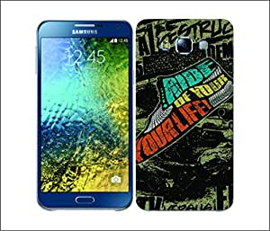 Galaxy Printed 1773 Coloured Doodle polka dots Hard Cover for Samsung CORE 2
