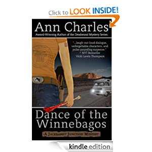 Dance of the Winnebagos (Jackrabbit Junction Mystery Series #1)