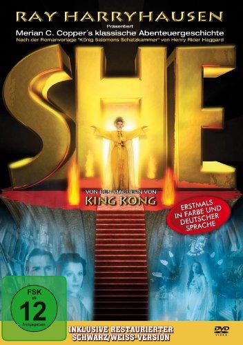 SHE - Herrscherin einer versunkenen Welt (1935) [DVD]