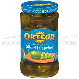 Ortega Sliced Jalapeno Peppers - no. 10 can, 6 cans per ...