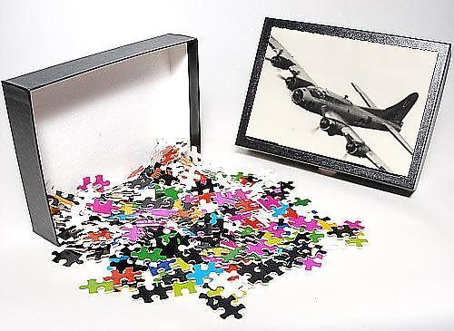 Photo Jigsaw Puzzle of Boeing B-17G Flying Fortress, /G-BEDF, Sally B