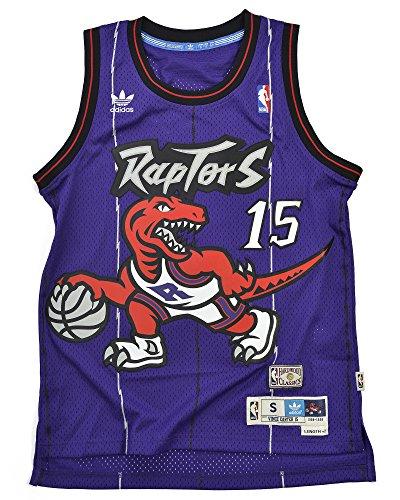 Vince Carter Toronto Raptors Adidas NBA Throwback Swingman Jersey - Purple