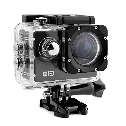 ELE-CAM-Sportkamera-Actionkamera-16MP-4K-Wasserdicht-Full-HD-Klein-Set-Helm-mit-Zubehr-Wifi-1080p-60fps-Wasserdicht-Unterwasser-Tauchen-fr-Motorrad-Fahrrad-mit-Halterung