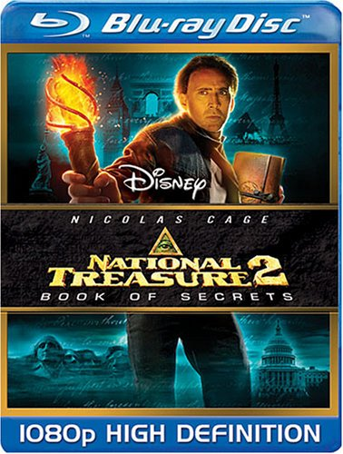 Cover art for  National Treasure 2: Book of Secrets [Blu-ray]