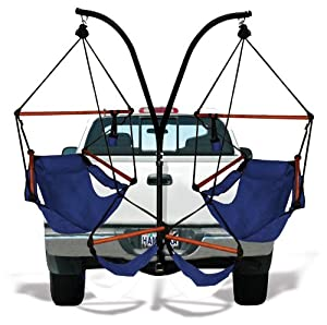 Trailer Hitch Stand and Hammock Chair Combo from Hammaka