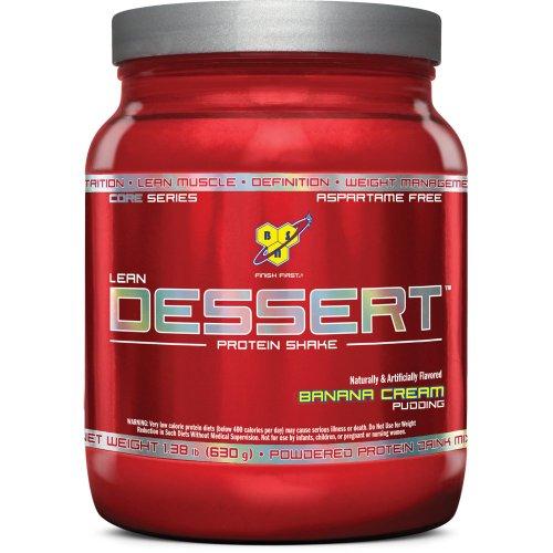 BSN Lean Dessert Protein, Banana Cream Pudding,