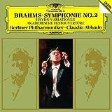 ブラームス:交響曲第2番、ハイドンの主題による幻想曲、大学祝典序曲